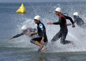 Triathlon swimming 300x214 - 050625-N-7575W-011