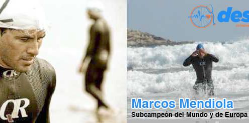 MENDIOLA 495x245 - EL TRIATLETA INTERNACIONAL MARCOS MENDIOLA SE INCORPORA AL GRUPO DESABI