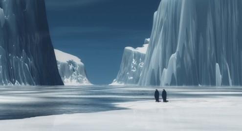 pinguinos polo norte 495x269 - PEDALADAS CONTRA EL DESTINO