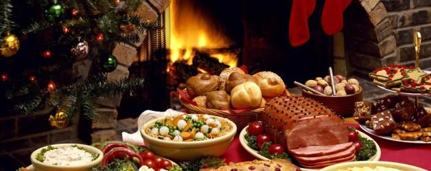 Christmas Tableware Dishes 628x250 - PROPIEDADES DEL TURRÓN PARA LOS DEPORTISTAS