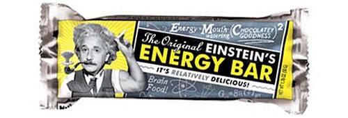 einstein energy bar - ¿SON TODAS LAS BARRITAS ENERGÉTICAS IGUALES?