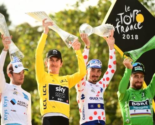 "latour thomas alaphilippe sagan podio paris tour francia 2018 495x400 - ESTRATEGIAS DE HIPERHIDRATACIÓN ""¿SON EFECIENTES?""  Parte I"